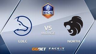 LDLC vs North, mirage, ECS Season 6 Europe