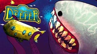We Need To Go Deeper - ATAQUE De Lula Gigante, Monstros Marinhos!  (#1) (Gameplay/PT-BR)