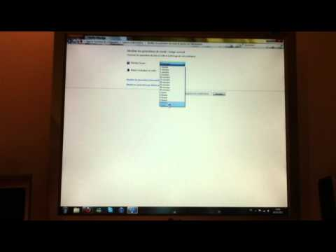 comment modifier mise en veille windows 7