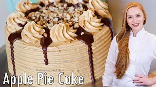Apple Pie Maple Pecan Cake by Tatyana's Everyday Food