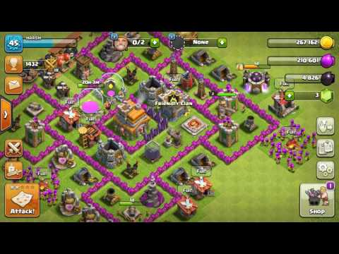 The most strangest clans ever in clash of clans