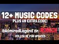 12+ RARE ROBLOX Music Codes!