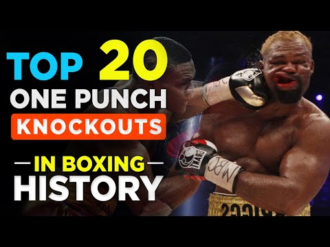 TOP 20 ONE PUNCH KO'S IN BOXING HISTORY