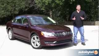 2012 Volkswagen Passat TDI Test Drive&Car Video Review