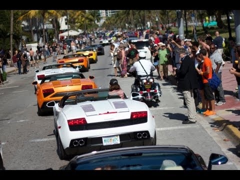 Lamborghini Owners Event in Miami – Aventador Roadster Public Launch