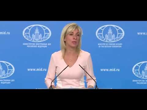 СРОЧНО Мария Захарова: США и Англия ЗАКЛЯТЫЕ враги России - DomaVideo.Ru