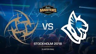 NiP vs Heroic - DH MASTERS Stockholm - map1 - de_nuke [GodMint, Anishared]