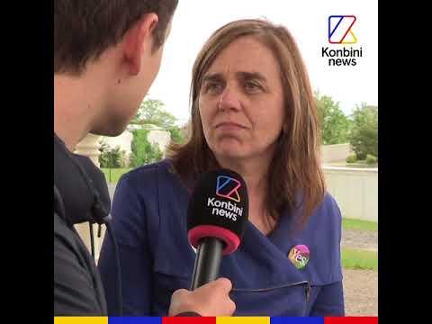 Hugo Clément a rencontré Melisa Halpin qui se bat pour le droit à l'avortement en Irlande (видео)
