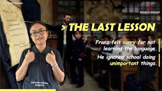 The Last Lesson Part 3 of 5