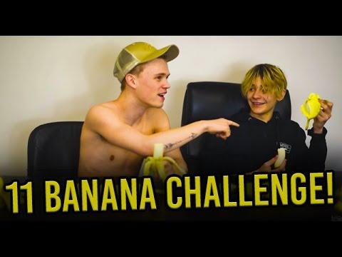 11 Banana Challenge! - BAM Vlog
