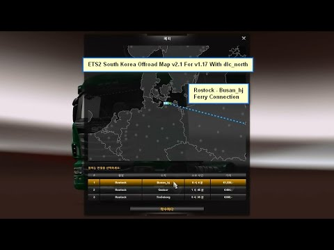South Korea Offroad Map v2.1 For v1.17 With dlc_north