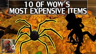 Video 10 of WoW's Most Expensive Items MP3, 3GP, MP4, WEBM, AVI, FLV Desember 2018