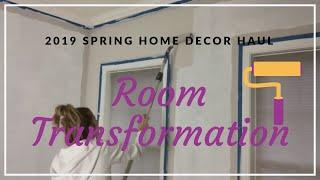 Extreme Room Transformation 2019  Complete Room Transformation  Spring Target   Marshalls Haul