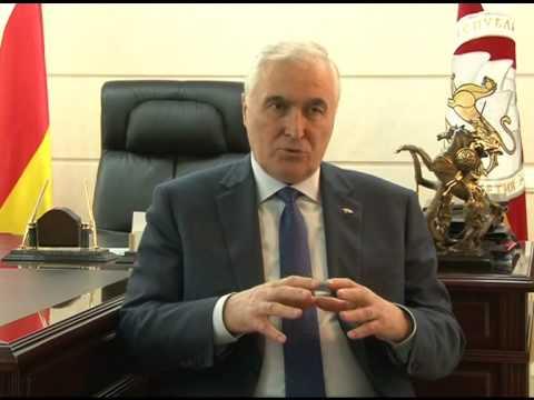 Беседа с Председателем Государственного комитета информации и печати Вячеславом Гобозовым