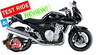 4. Would you buy a Suzuki Bandit 1250S? Ride and Review
