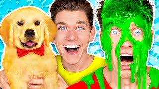 Video Dogs Pick our Mystery Slime Challenge! Learn How To Make the Best DIY Funny Switch Up Oobleck Game MP3, 3GP, MP4, WEBM, AVI, FLV Agustus 2019