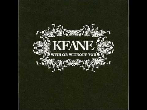 Tekst piosenki Keane - With Or Without You (U2 cover) po polsku