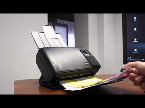 Kodak i2420 Scanner Test deutsch Dokumentenscanner