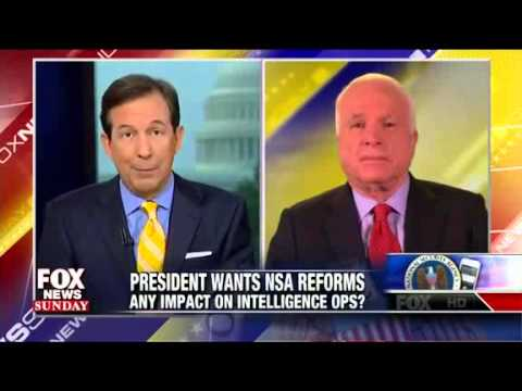 John McCain:  Young People Distrust Government, See Snowden As 'Jason Bourne' - Fox News