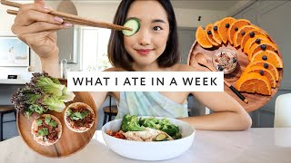 What I Ate In A Week (Healthy + Intuitive Eating) by Clothes Encounters