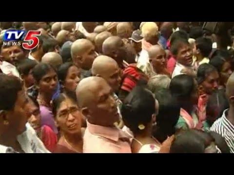Nearly 6 lakh Devotees Reached Tirumala to Visit Garuda Vahana seva : TV5 News