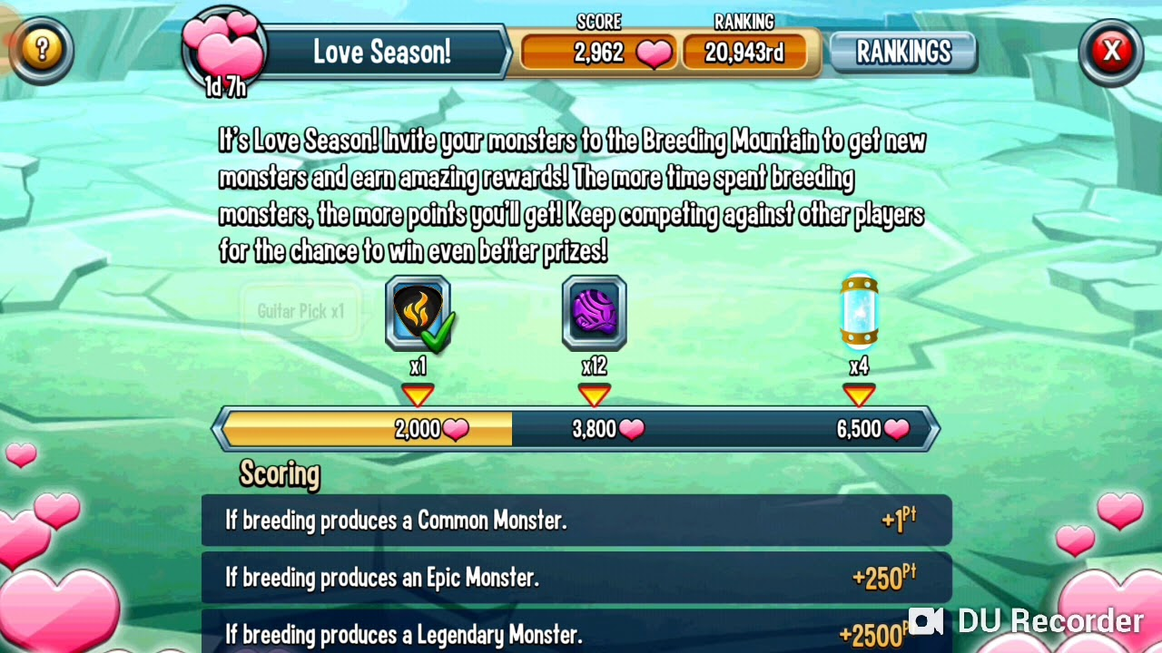Monster Legends | Collect 3 Guitar Picks | Metalisha Breeding Event