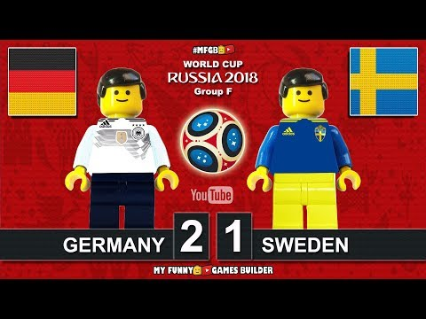 Germany vs Sweden 2-1 • World Cup 2018 • All Goals Deutschland Schweden Highlights Lego Football