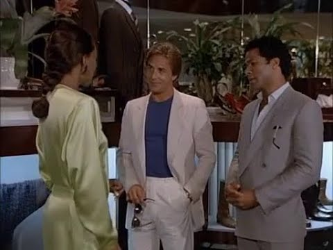 Miami Vice - Tubbs shopping