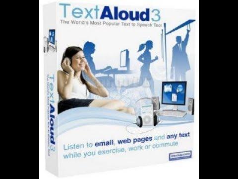 برنامج تحويل المكتوب الى مسموع NextUp TextAloud 4.0.22