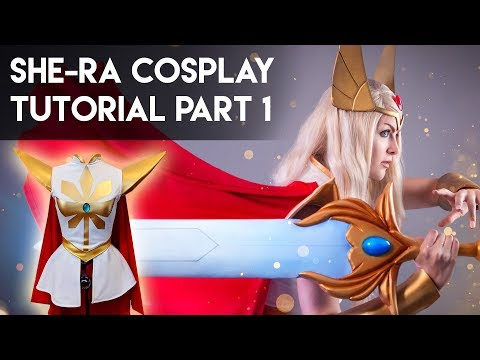 She-Ra Cosplay Tutorial Part 1: Sewing the Costume