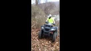 10. Polaris Sportsman 570 SP hill climb