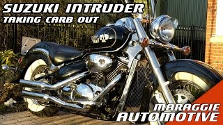 9. Suzuki Intruder Volusia - how to take the carburettor out