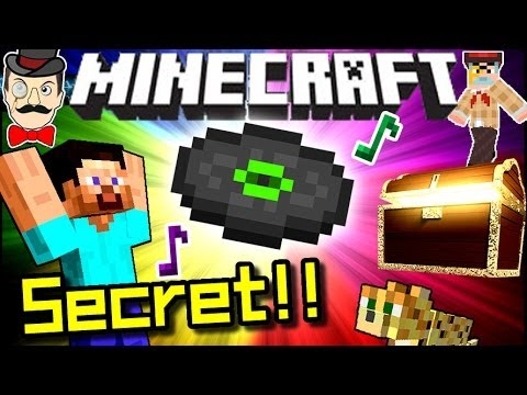 Minecraft SECRET MUSIC FOUND! Amazing Song!