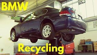 Tak wygląda utylizacja całkowicie nowych BMW. Dla niektórych ciężki widok