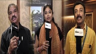 11th Chennai International Film Festival Meet | Mohan | Srilekha Parthasarathy | Suhashini - BW