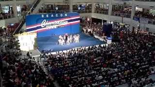 Bangkok University Seacon Square Cheerleading 2013 Final
