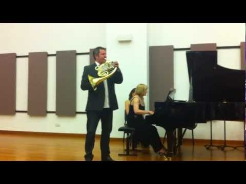 Stefan Dohr - From the Singapore Brass Explosion, 1-4 June 2012. Pianist - Lauretta Bloomer.