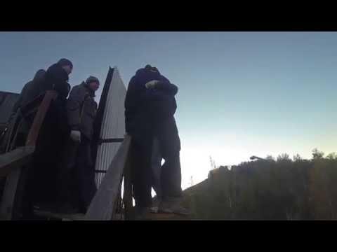 RJ Николаевская сопка. Трамплин. 28.09.2014 (видео)