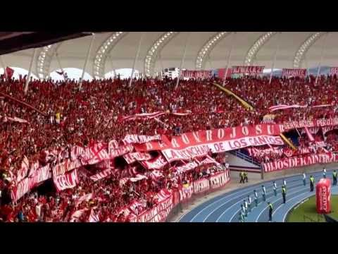 Barón Rojo Sur - América 2 Popayan 1 26 de enero 2014 - Baron Rojo Sur - América de Cáli