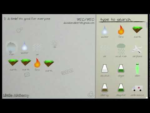 How to make items in Little Alchemy