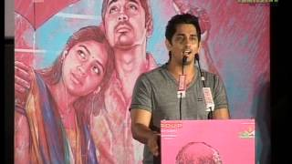 Siddarth at Jigarthanda Movie Audio Launch