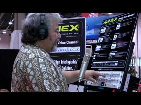 Aphex 230 Master Voice Channel Video