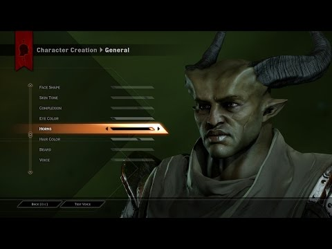 age - Dragon Age Inquisition Character Creation Subscribe ▻ http://bit.ly/GamesHQMedia.