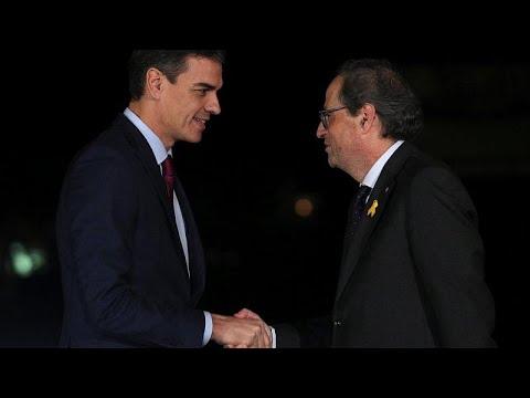 Spanien: Ministerpräsident Sánchez hat den Regionalpräsidenten Kataloniens getroffen