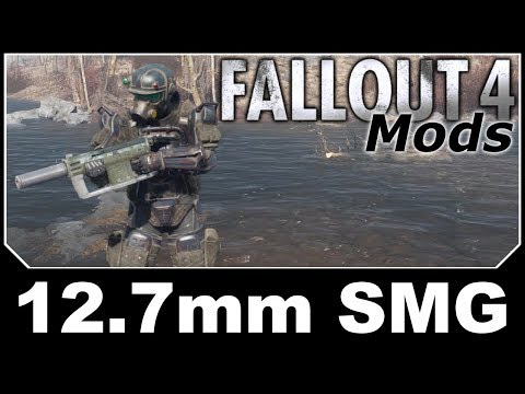 Fallout 4 Mods - 12.7mm SMG from Fallout New Vegas