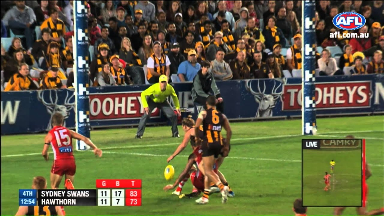 Lance Franklin Goal of the Year nomination Round 8