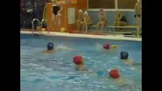 Тренировка по водному поло (видео №1)