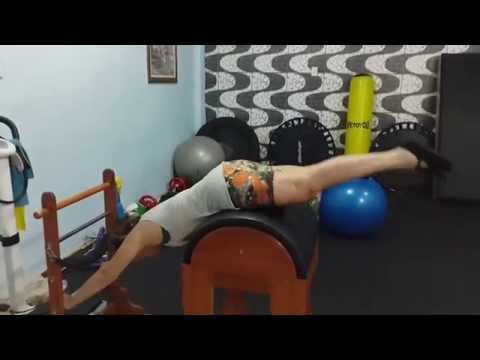 Fisioterapia e Pilates 005. Protese de Quadril Direito-Displasia Bilateral.