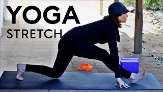 Video 20 Minute Morning Yoga Stretch With Fightmaster Yoga MP3, 3GP, MP4, WEBM, AVI, FLV Maret 2018