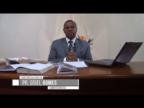 Lição 1 - Lições Bíblicas Adultos - 1º Trim./2017